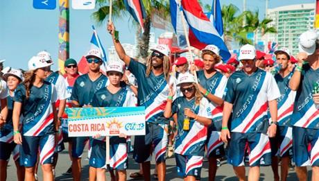 Selección Nacional de Surf de Costa Rica 2014 - Foto ISA