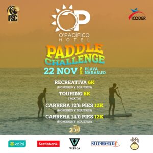 Poster Opacifico Paddle Challenge